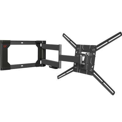 Barkan  40 in to 80 in Full Motion - 4 Movement Flat/Curved Dual Arm TV Wall Mount, up to 110 lbs