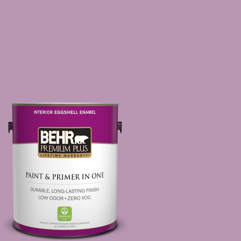 BEHR Premium Plus 1-gal. #M110-4 Cherished Eggshell Enamel Interior Paint
