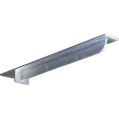 24 in. x 3 in. x 2 in. Steel Unfinished Metal Heaton Bracket
