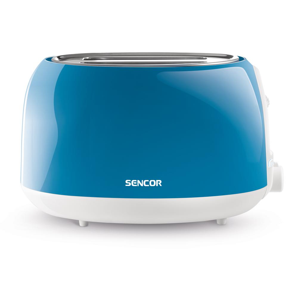 2-Slice Solid Turquois Toaster, Green Automatic centering function for even toasting of thick and thin toasts. High lift function for easy removal of smaller toasts. Electronic timer - 6 toasting intensity levels. Color: Green.