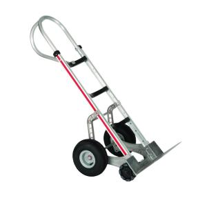 Magliner 500 lb. Capacity Self-Stabilizing Aluminum Hand Truck, 10 inch Foam... by Magliner