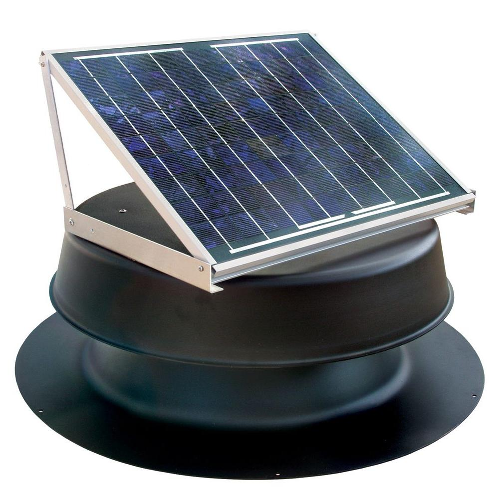 null 20 Watt Solar-Powered Attic Fan