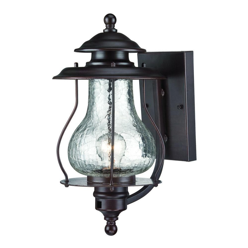 Amazing Acclaim Lighting Blue Ridge Collection 1 Light Architectural Bronze Outdoor  Wall Mount Light Fixture