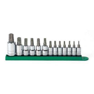 Torx Tamper Socket Set (13-Piece)