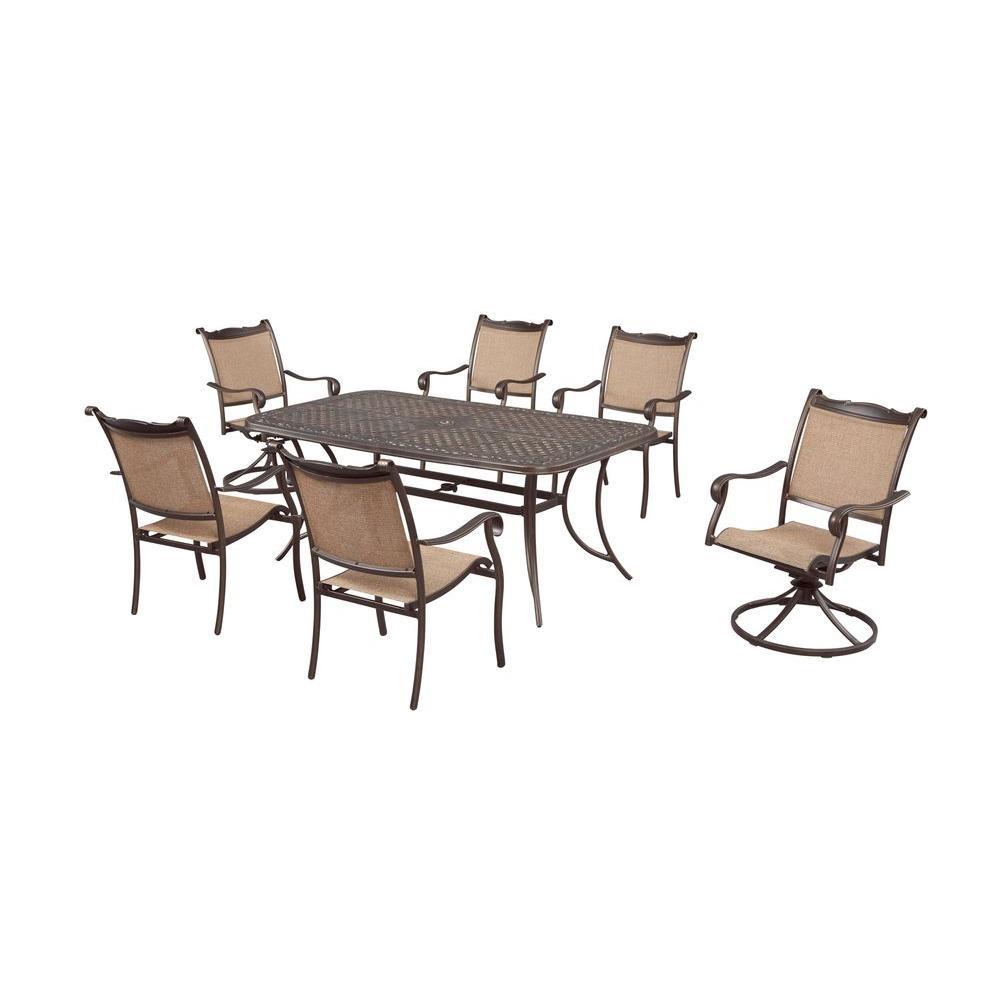Hampton Bay Westbury 7-Piece Patio Dining Set