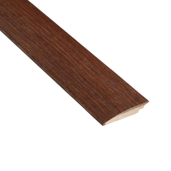 Distressed Barrett Hickory 3/8 in. Thick x 2 in. Wide x 78 in. Length Hard Surface Reducer Molding