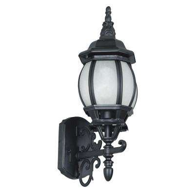 Linard 1-Light Black Outdoor Wall Lantern