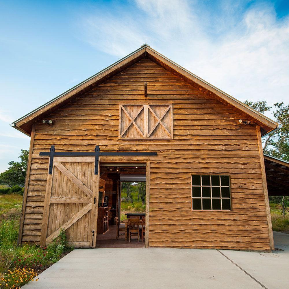 Exterior Barn Door Rail