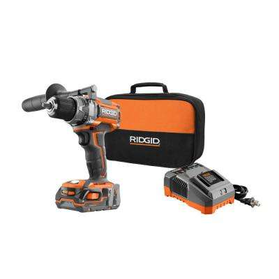 18-Volt Gen5X Lithium-Ion Cordless 1/2 in. Brushless Compact Drill/Driver Kit with (2) 1.5Ah Batteries, Charger and Bag