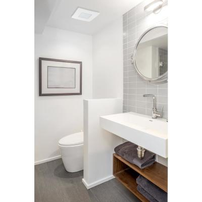 80 CFM Easy Installation Bathroom Exhaust Fan with LED Lighting