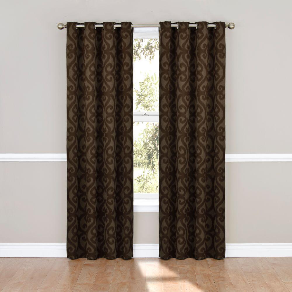 Patricia Blackout Grommet  Grommet Curtain Panel