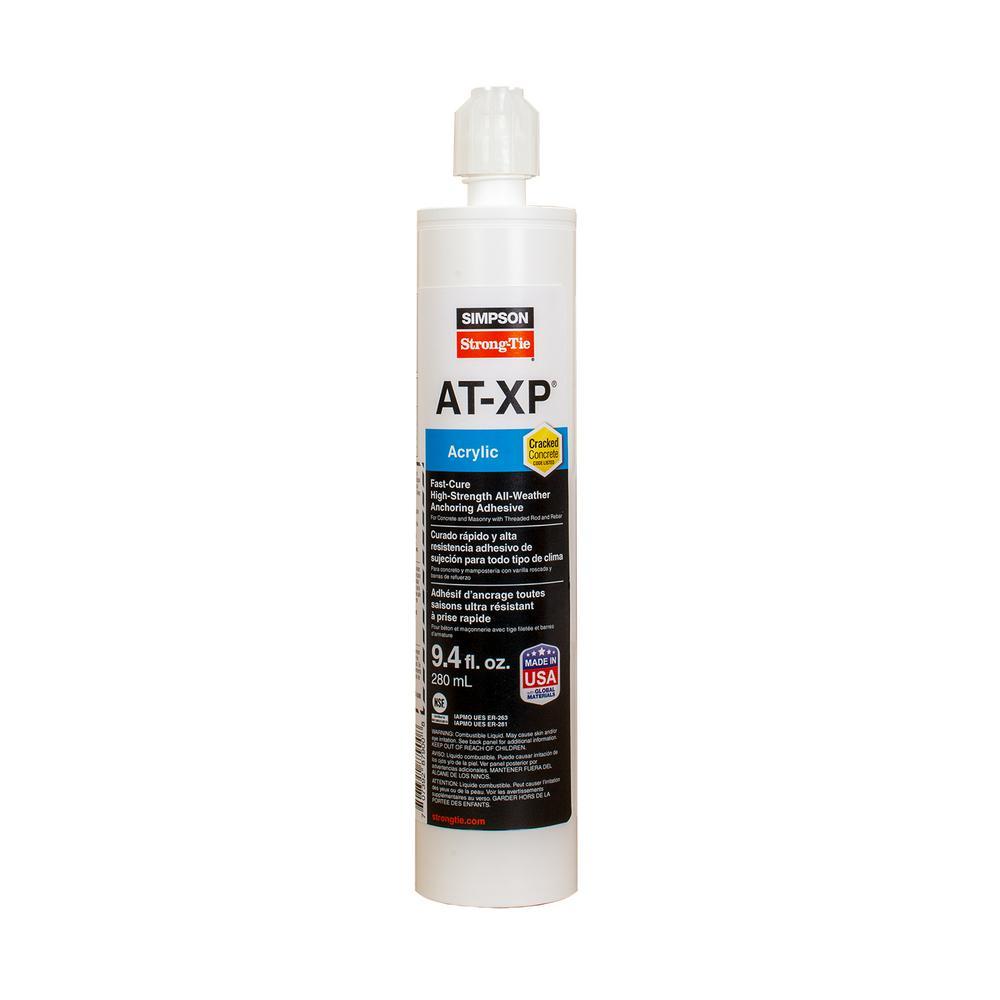 9.4 oz. Acrylic Tie Anchoring Adhesive Cartridge