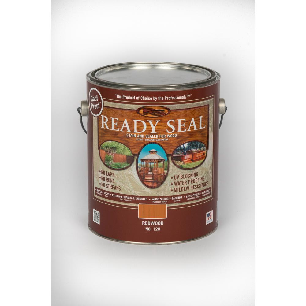 ReadySeal Ready Seal 1 gal. Redwood Exterior Wood Stain and Sealer