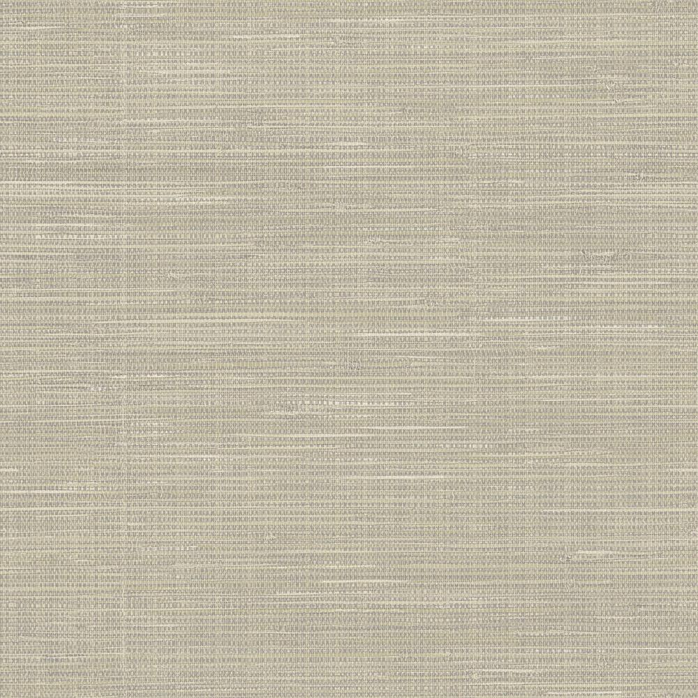 Nuwallpaper sq ft wheat grasscloth peel and stick for Self stick grasscloth wallpaper
