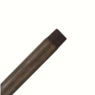 Hang-Tru Perma Lock 24 in. Aged Bronze Extension Downrod for 11 ft. ceilings