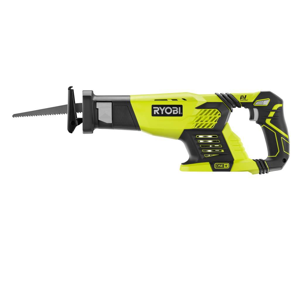 RYOBI 18-Volt ONE+ Cordless Reciprocating Saw (Tool Only)