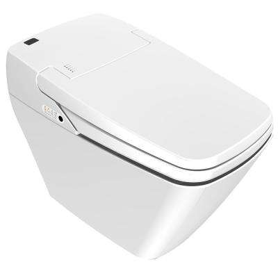 Prodigy Square Smart Bidet System with Auto Open/Close Seat and Lid in White