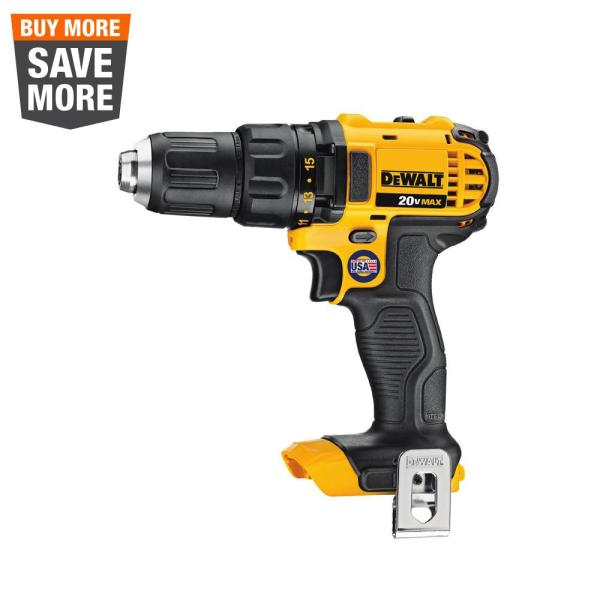 20-Volt MAX Cordless Compact 1/2 in. Drill/Drill Driver (Tool-Only)