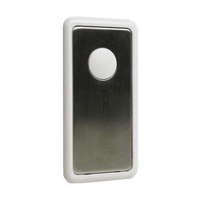 Decorative Snap-On Cover for Wall Switch Receiver