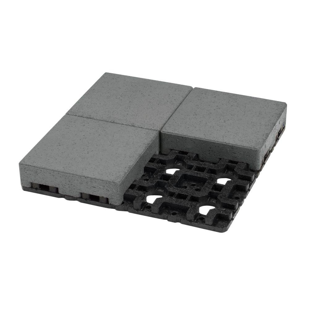 8 in. x 8 in. Waterwheel Composite Standard Paver Grid System