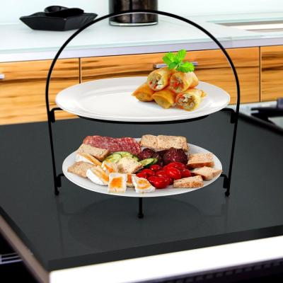 Gracious Dining 2-Tier Stoneware Serving Stand