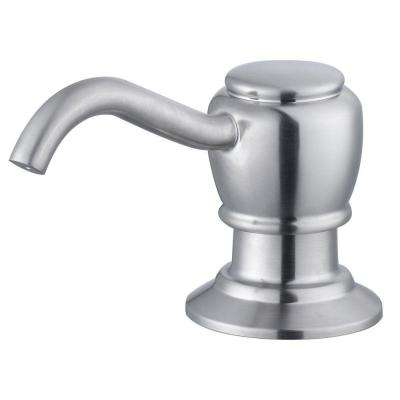 Soap/Lotion Dispenser in Satin Nickel