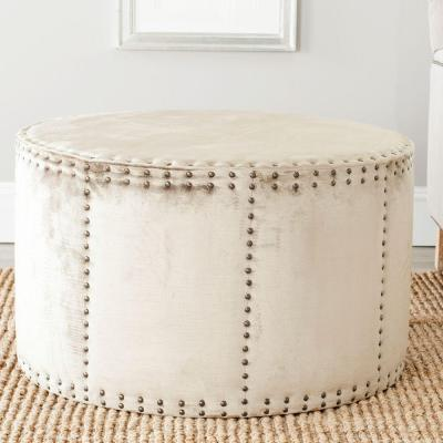 Sherri Antique Sage Accent Ottoman