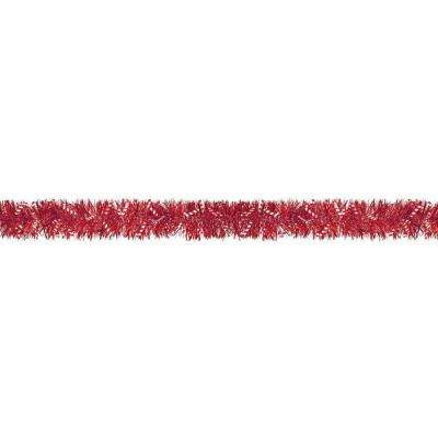 9 ft. Candy Cane Tinsel Boa Garland (2-Pack)