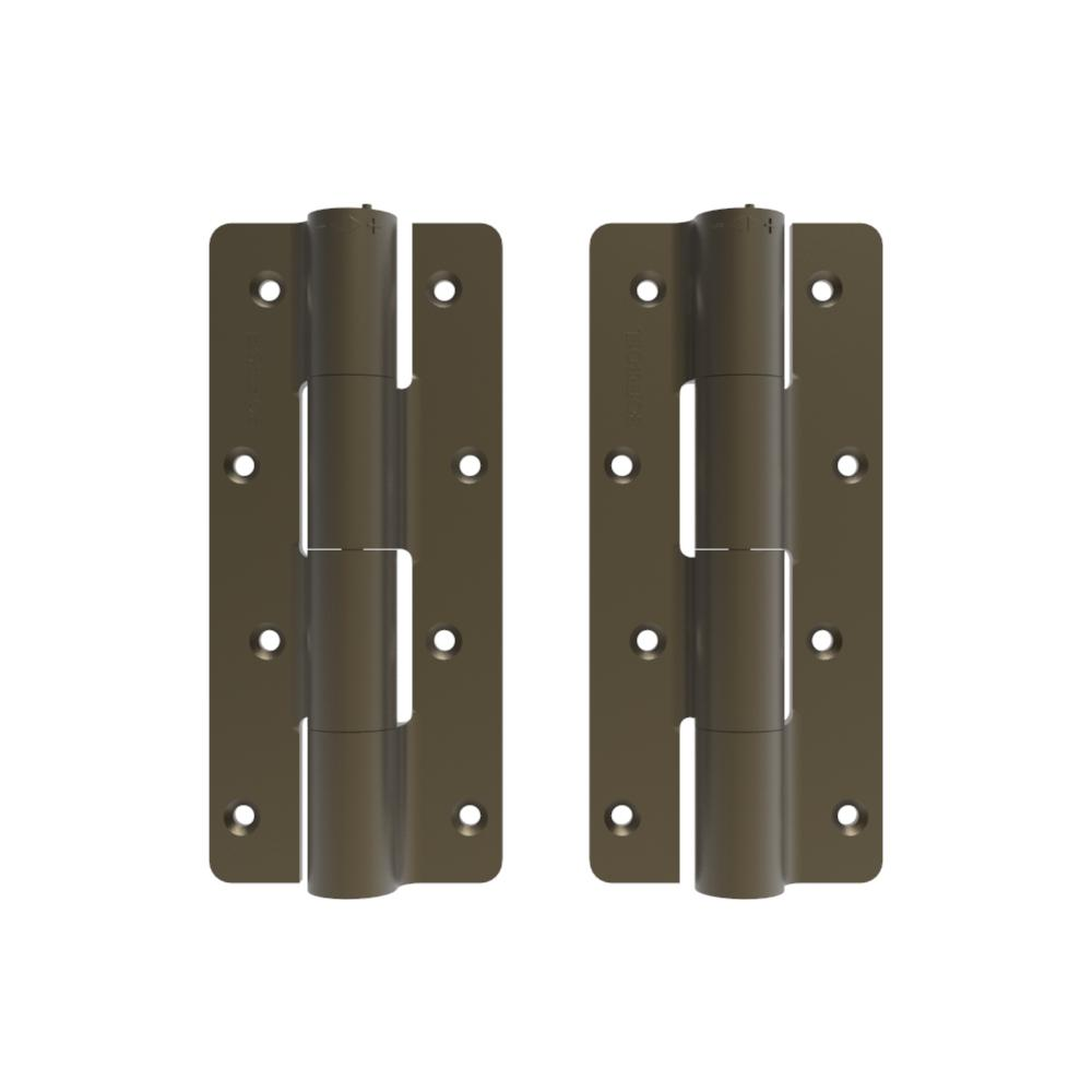 2.5 in. x 9.5 in. Aluminum Light Bronze Heavy-Duty Butterfly Hinge