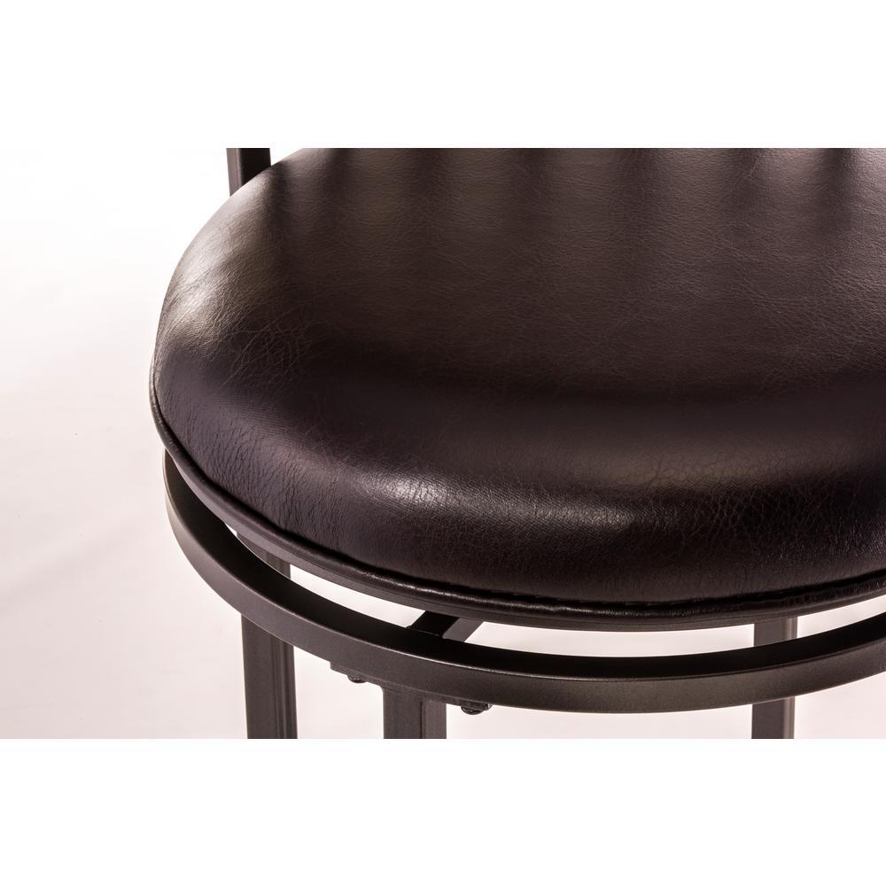 Astounding Hillsdale Furniture Cameron 30 In Chestnut Brown Swivel Beatyapartments Chair Design Images Beatyapartmentscom