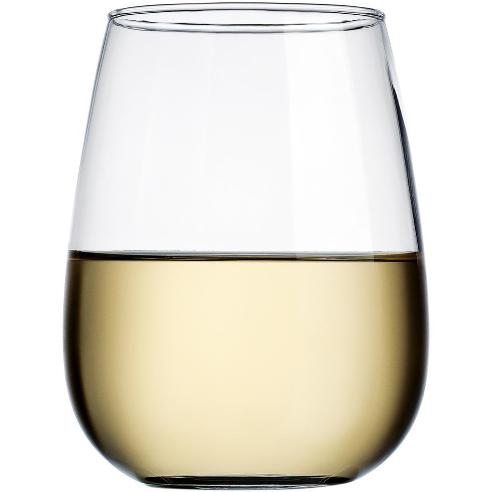 18 fl. oz. Stemless Wine Glasses (4-Pack)