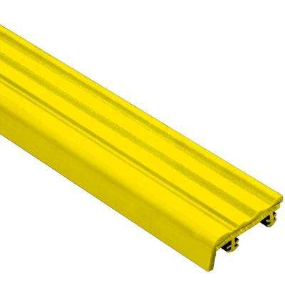 Trep-SE Yellow 1-1/32 in. x 8 ft. 2-1/2 in. Thermoplastic Rubber Replacement Insert