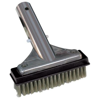 5 in. Stainless Steel Swimming Pool Brush for Algae