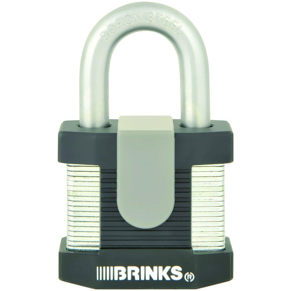 Commercial 2 in. Laminated Steel Keyed Padlock