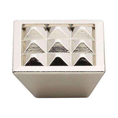 1.5 in. Nickel Pyramids Knob