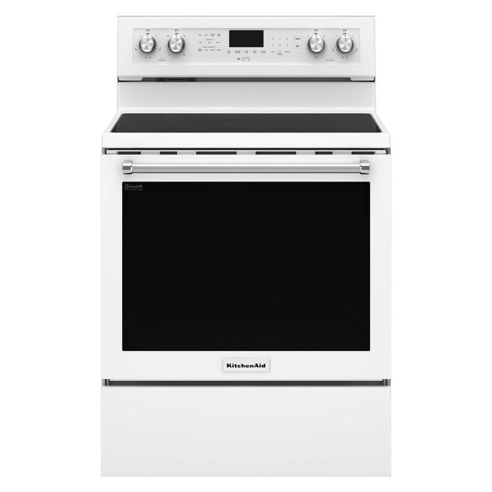 Merveilleux KitchenAid 30 In. 6.4 Cu. Ft. Electric Range With Self Cleaning Convection