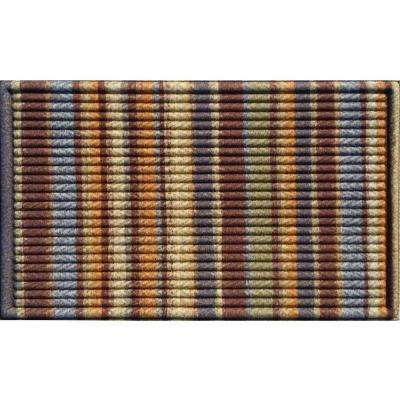 Elite Chindi Brown and Tan 18 in. x 30 in. Door Mat