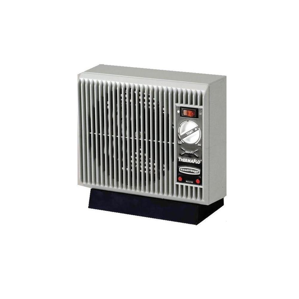 Seabreeze Slim Line 1500-Watt Convection Smart ThermaFlo Electric Portable Heater-DISCONTINUED