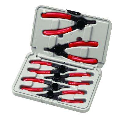 Cam-Lock Style Convertible Snap Ring Pliers Set (6-Piece)