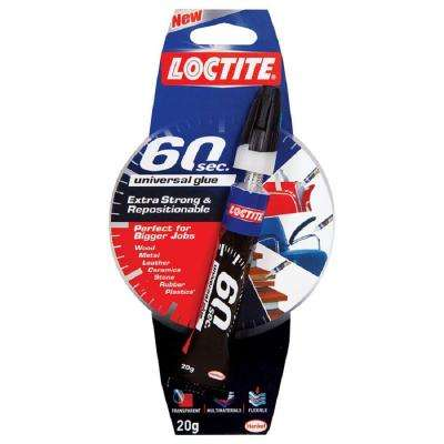 20g 60 Second Universal Glue (6-Pack)