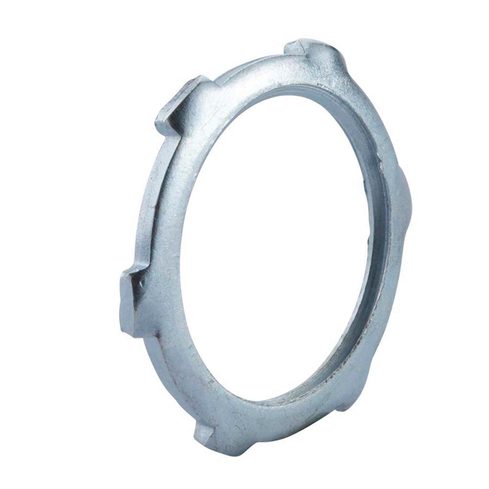 In rigid conduit locknuts pack b the