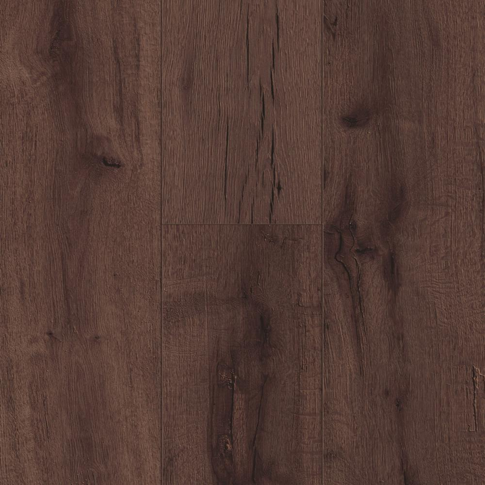 TrafficMASTER Reclaimed Oak 7 mm Thick x 723 in Wide x 5058