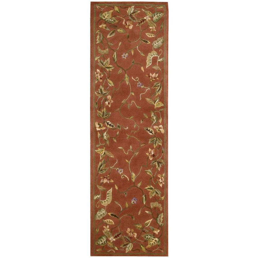 Julian Persimmon 2 ft. 3 in. x 8 ft. Rug Runner