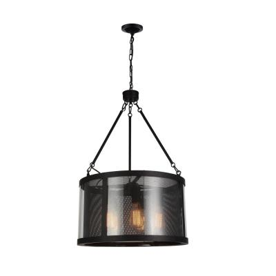 Souris 5-Light Reddish Brown Chandelier
