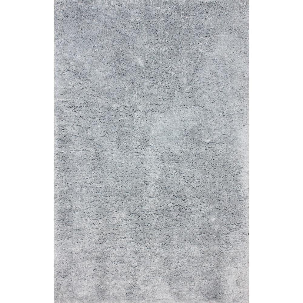 Maginifique Shag Light Grey 5 ft. x 8 ft. Area Rug
