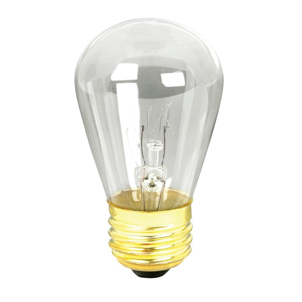 11-Watt String Light S14 Incandescent Light Bulb (Case of 48)