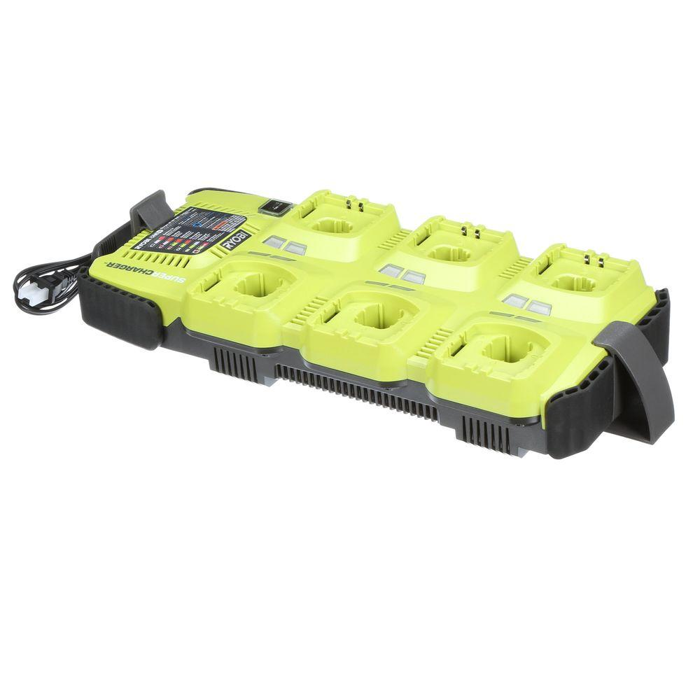 Ryobi 18-Volt ONE+ 6-Port SuperCharger (Tool Only)