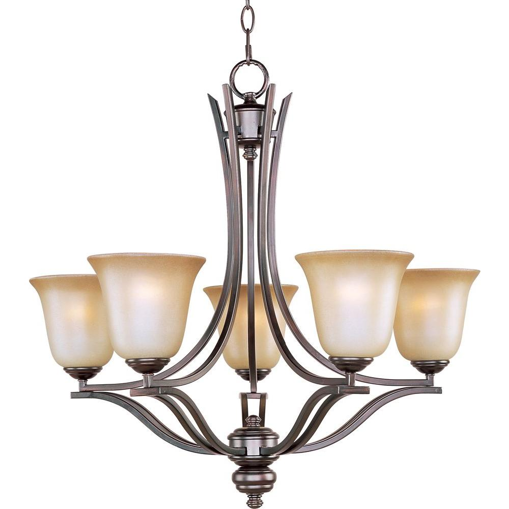 Maxim lighting madera 5 light oil rubbed bronze single tier maxim lighting madera 5 light oil rubbed bronze single tier chandelier mozeypictures Images