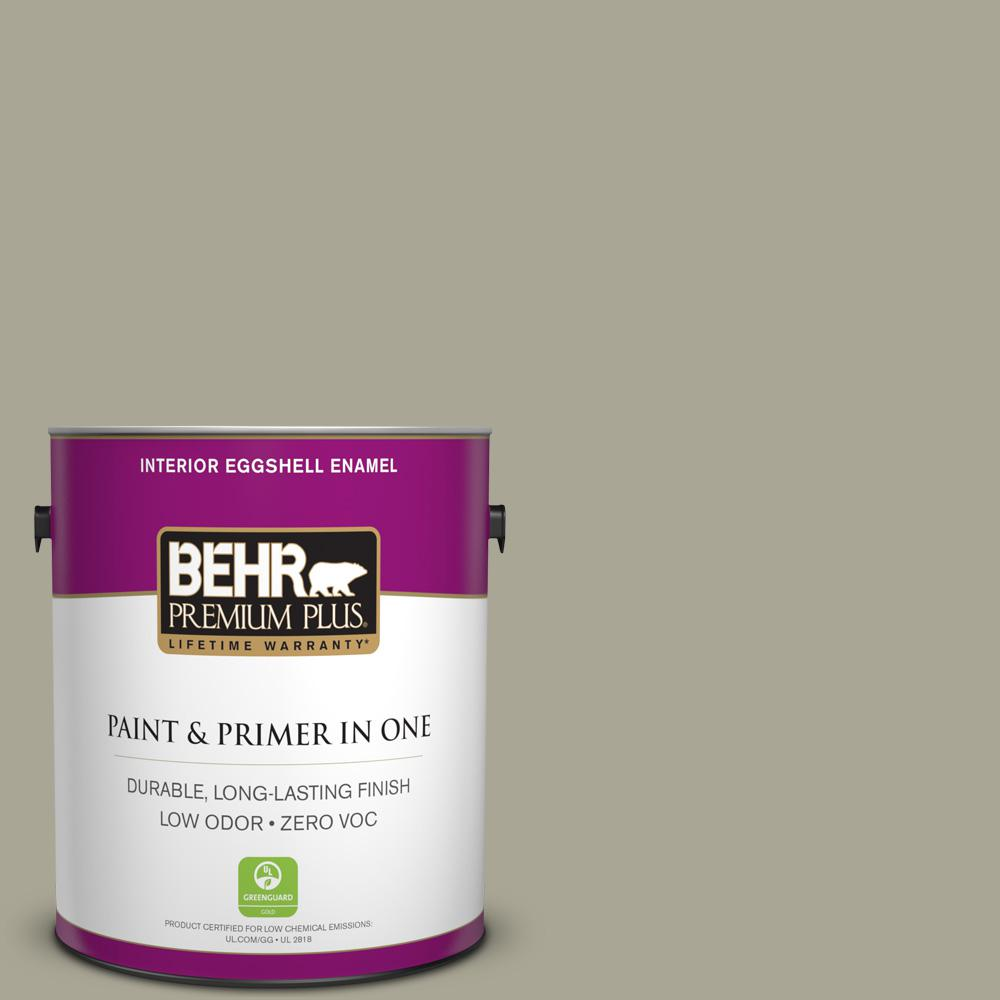 1-gal. #N350-4 Jungle Camouflage Eggshell Enamel Interior Paint