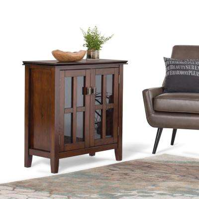 Artisan Medium Auburn Brown Storage Cabinet